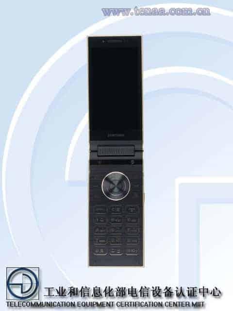 Samsung W2018 TENAA 5