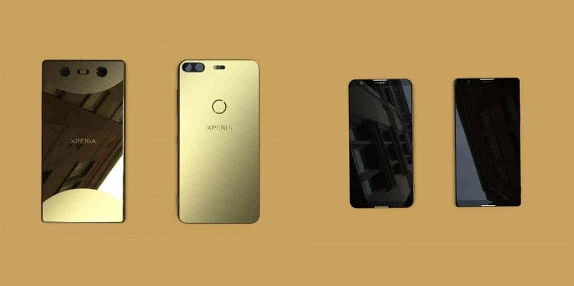 Sony Full Screen Leak GizChina Collage