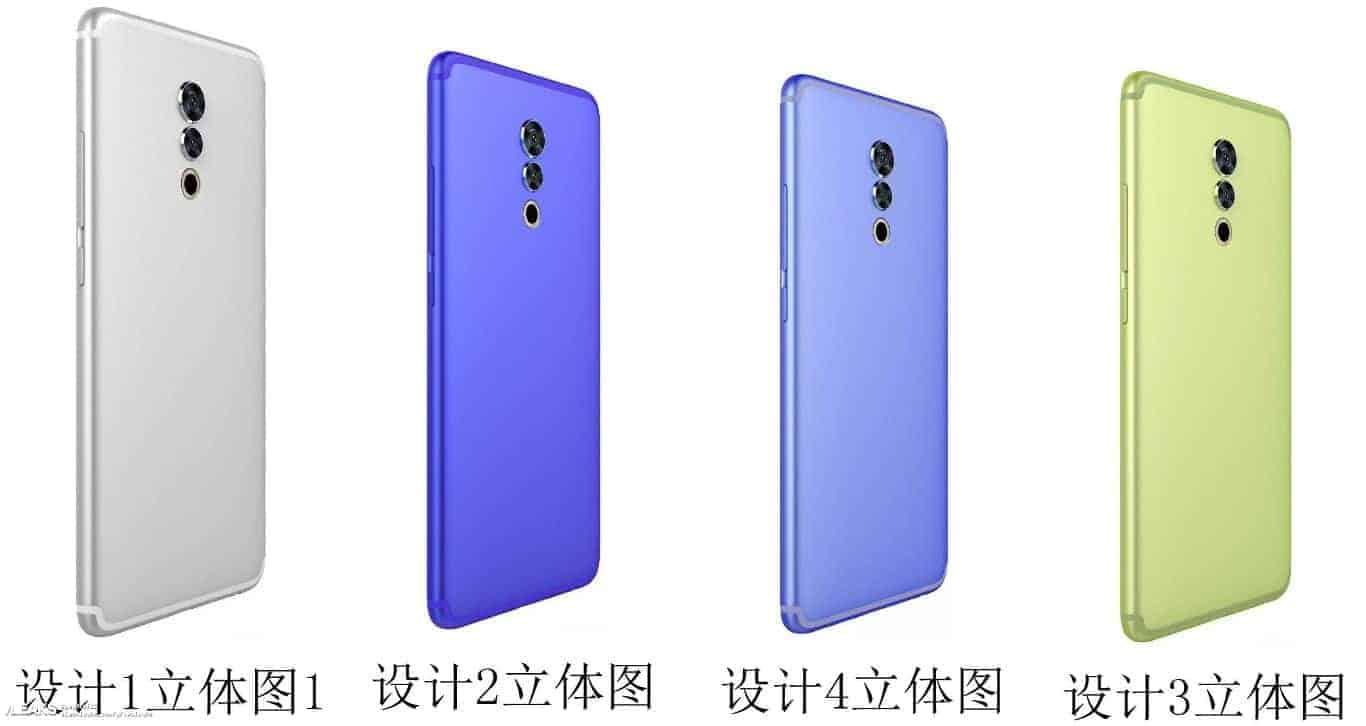 Unknown Meizu smartphone leak December 2017 1