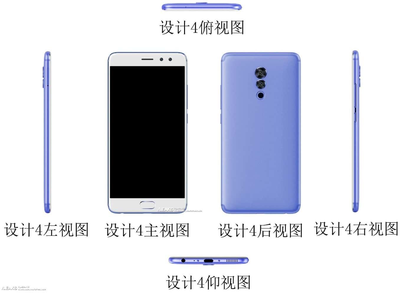 Unknown Meizu smartphone leak December 2017 4