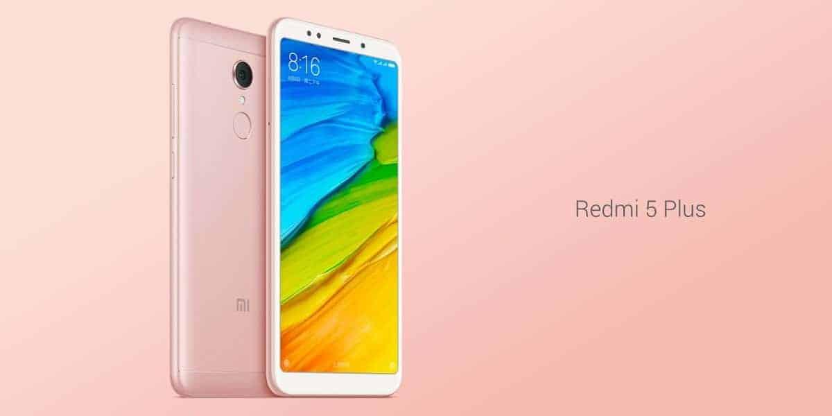 Xiaomi Redmi 5 Plus official image 1