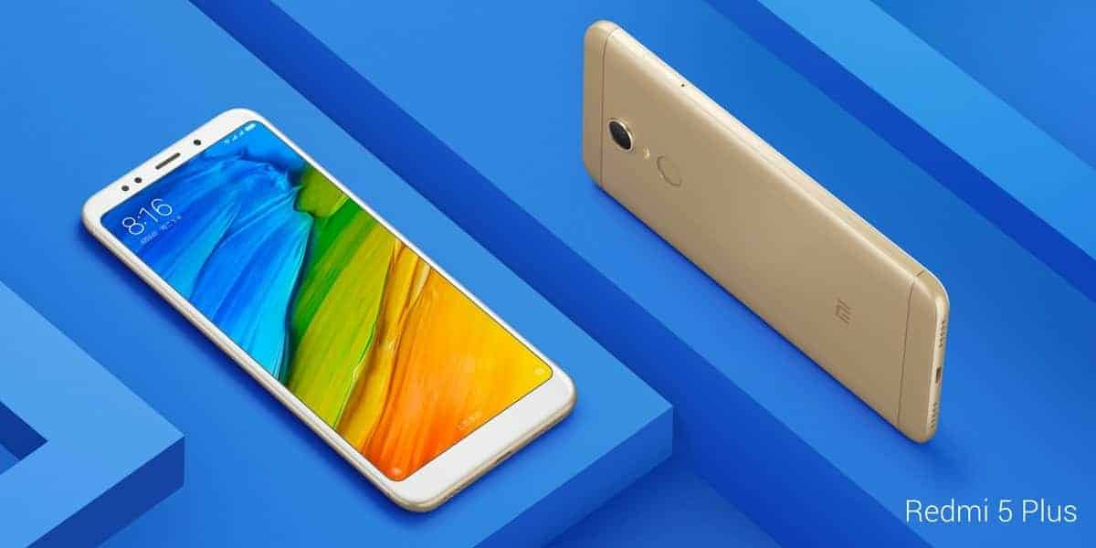 Xiaomi Redmi 5 Plus official image 3
