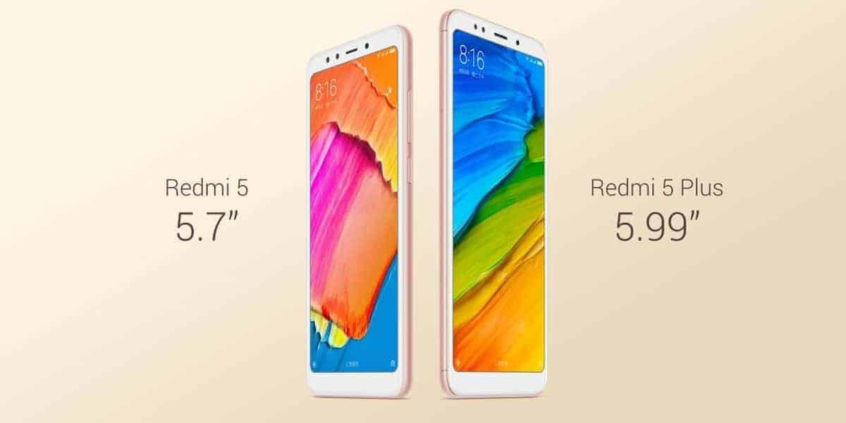 Xiaomi Redmi 5 and Redmi 5 Plus official image 1