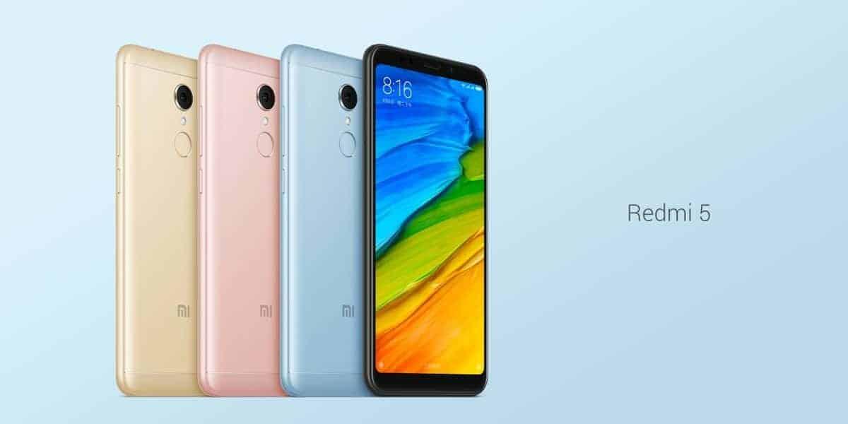 Xiaomi Redmi 5 official image 1