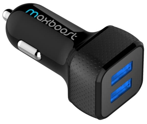 Maxboost 4.8A/24W 2 USB Smart Port Car Charger