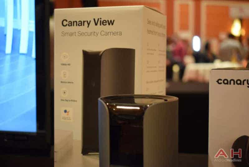 Hands-On With The Canary View Indoor Security Camera – CES 2018