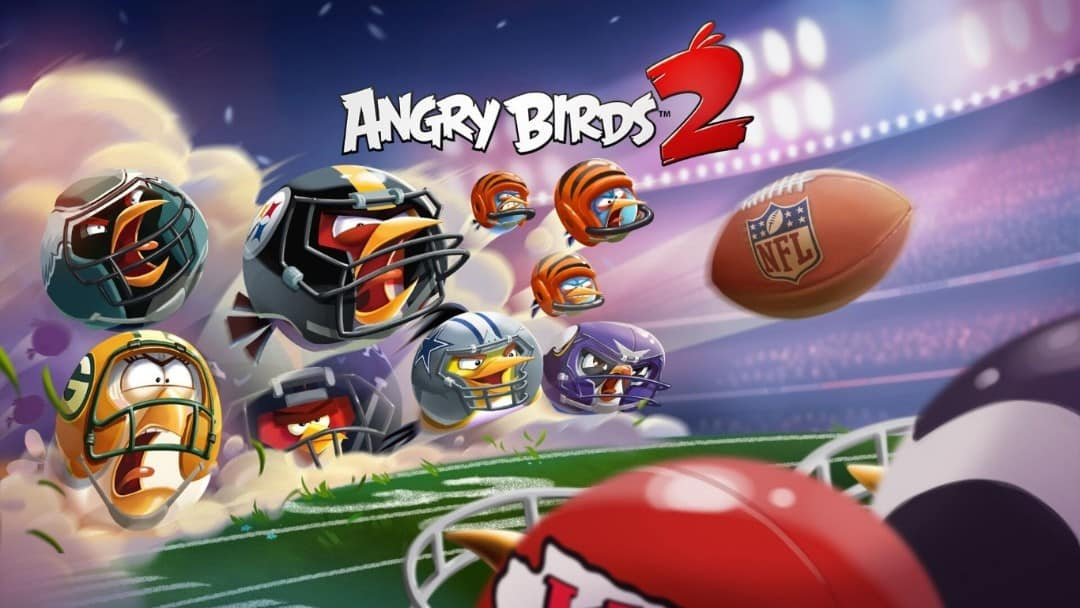 Angry Birds 2 Key Art NFL preview from ROVIO