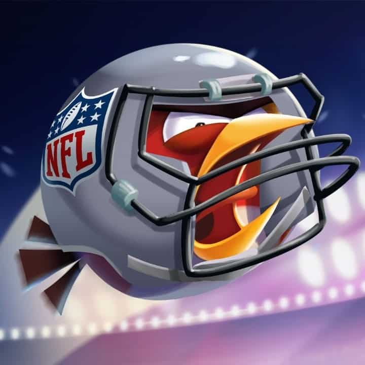 Angry Birds 2 Icon Red GRAY NFL preview from ROVIO