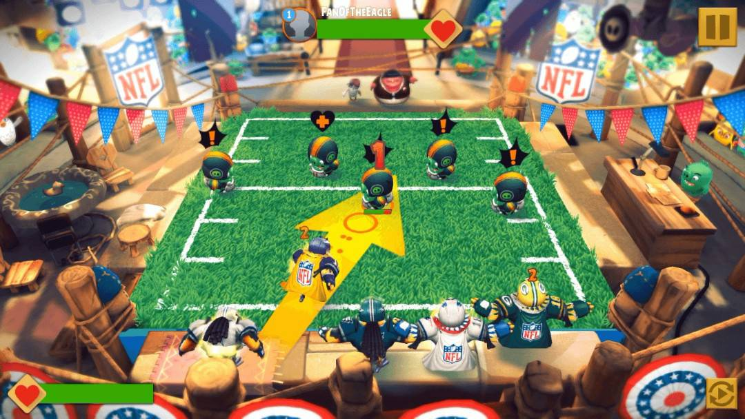 Angry Birds Evolution Gameplay Screenshot preview from ROVIO