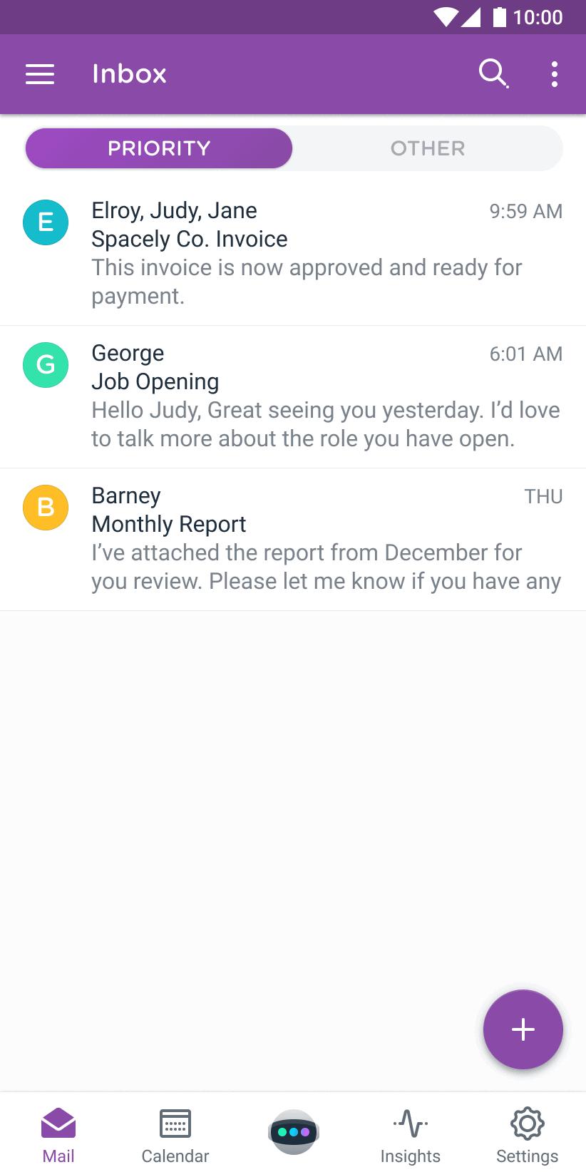 Astro Priority Inbox Android