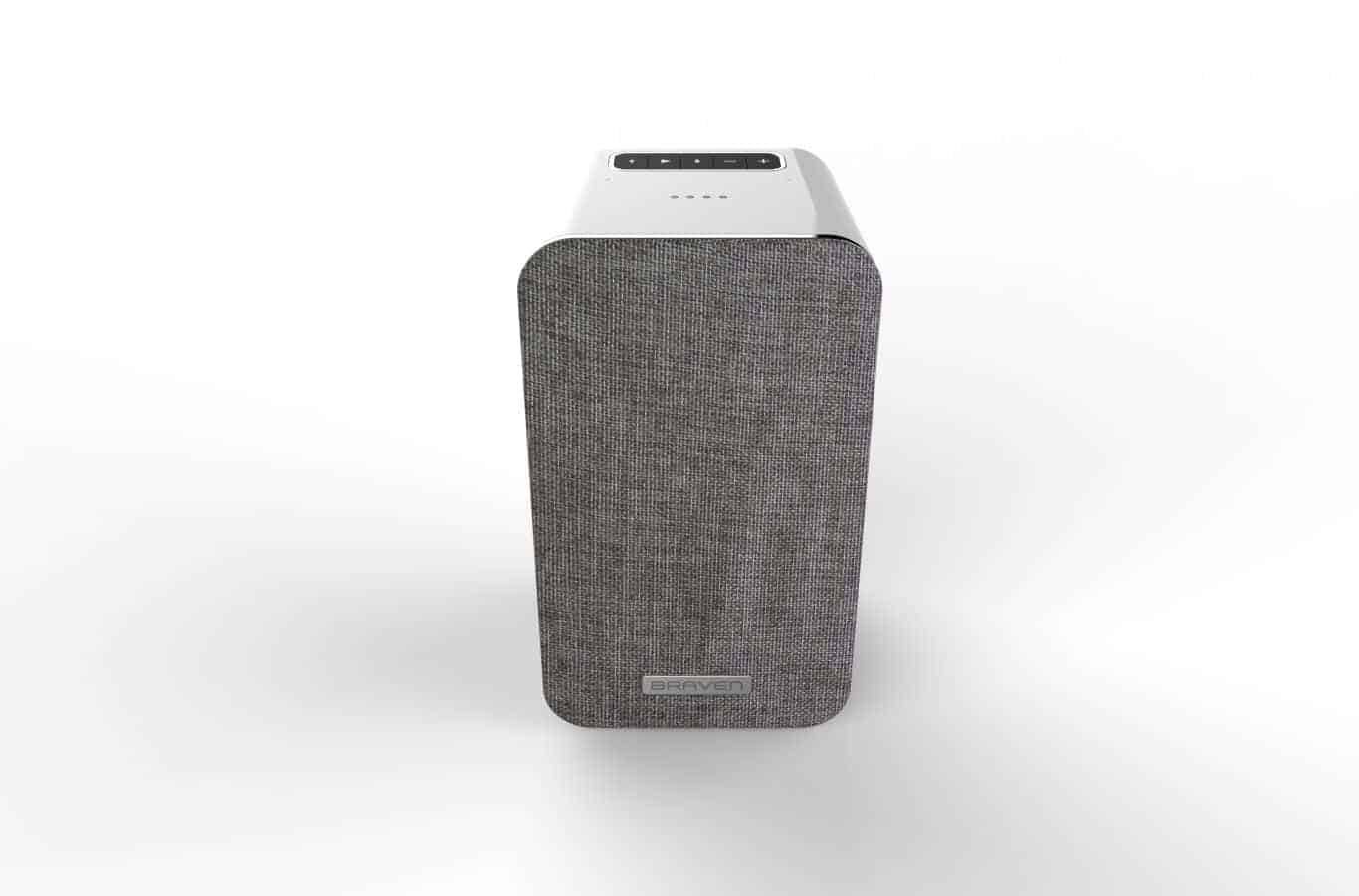 BRAVEN Villa Connect Google Voice Assistant Speaker Top