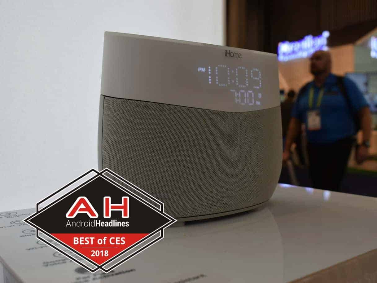 Best Of CES 2018 iHome iGV1 Google Assistant Powered Speaker