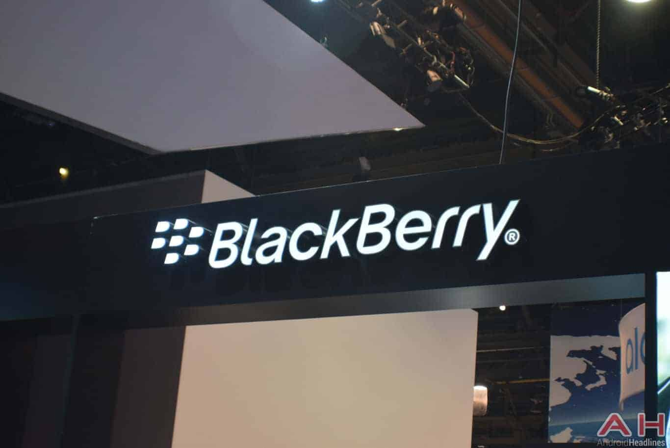 BlackBerry Logo CES 2018 AH 11