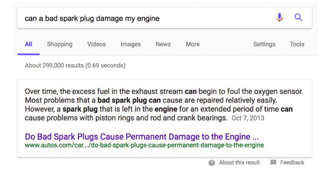 Featured Snippets 2