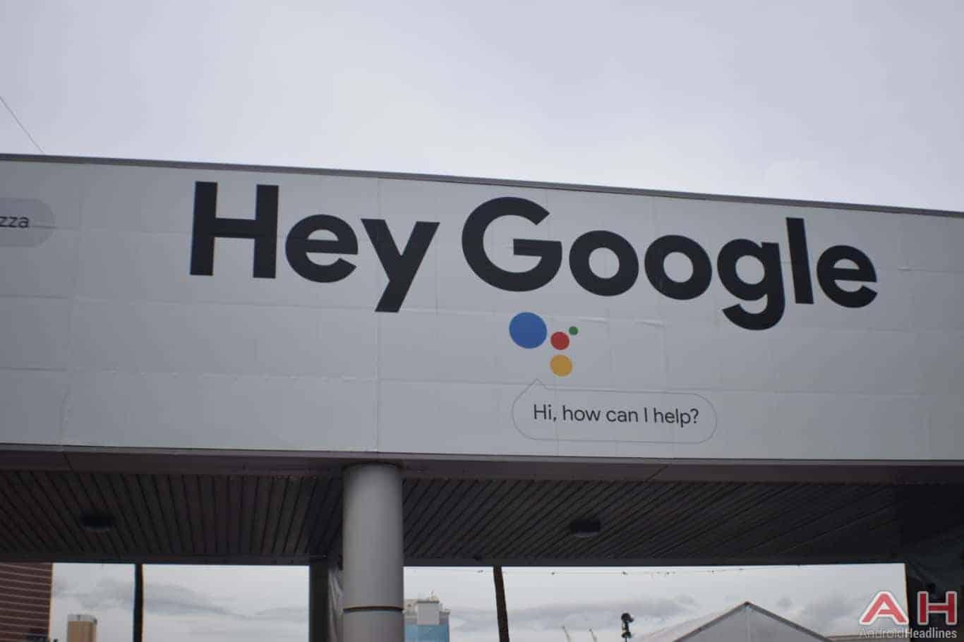Google CES 2018 Signage Logo AH 5