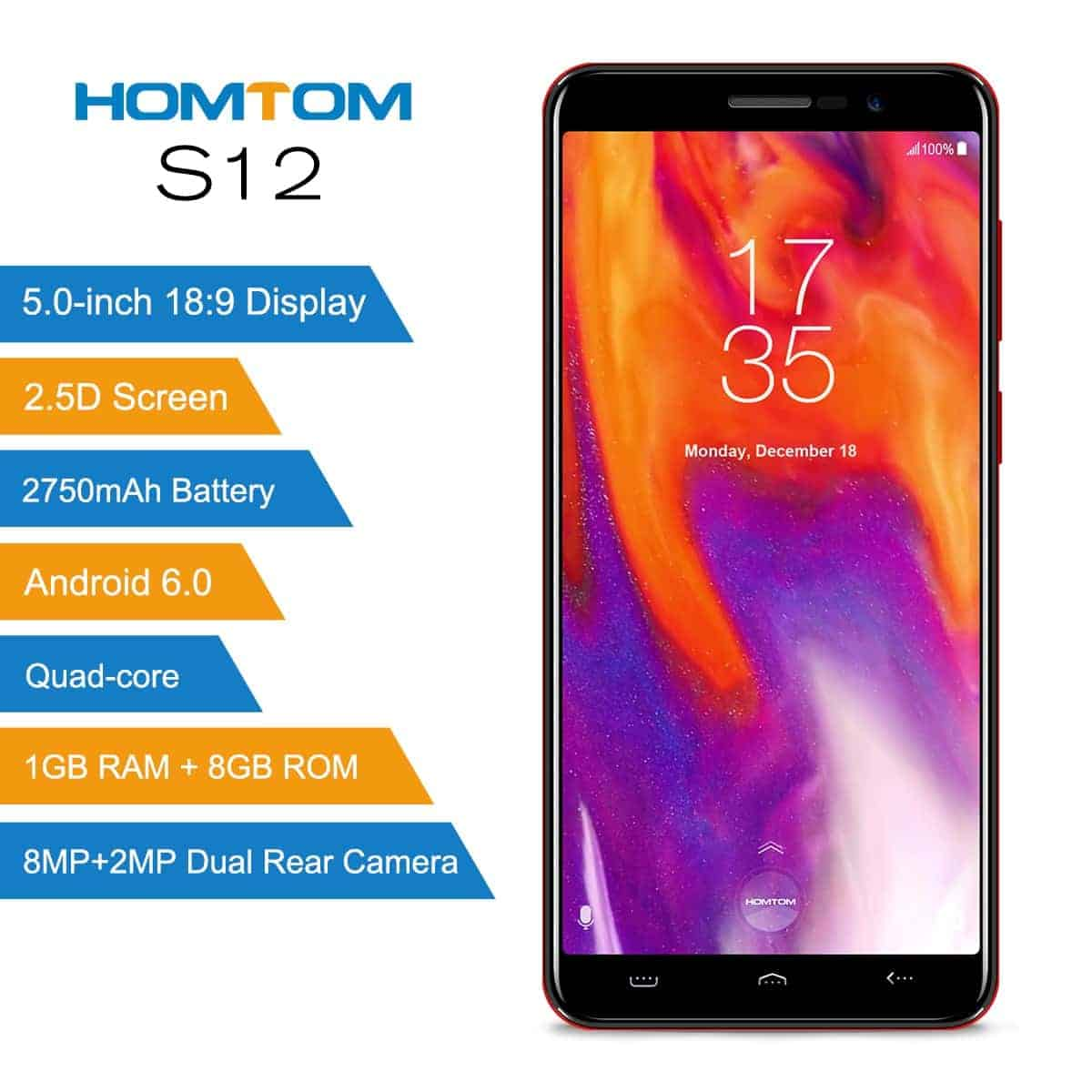 HOMTOM S12 official image 2