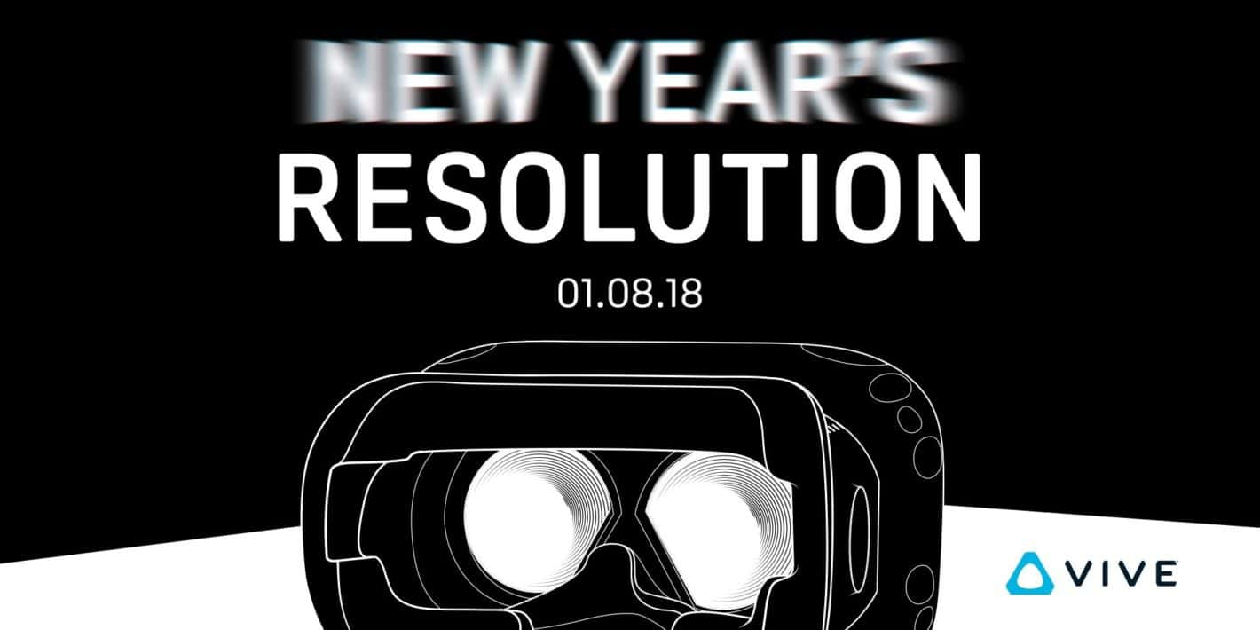 HTC VIVE Pre CES 2018 Press Image from HTC VIVE on Twitter