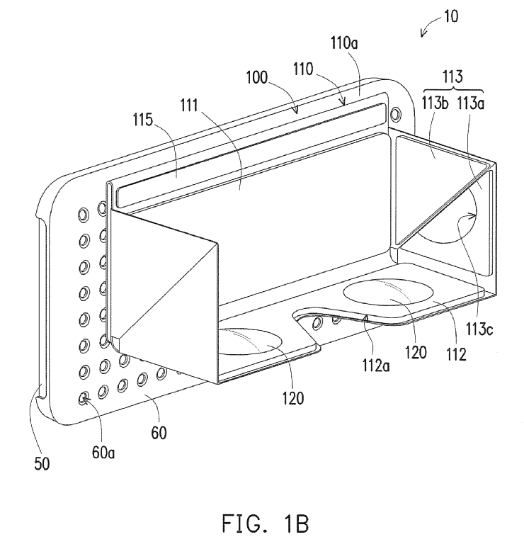 HTC WIPO VR Headset Magnetic Case Patent 2