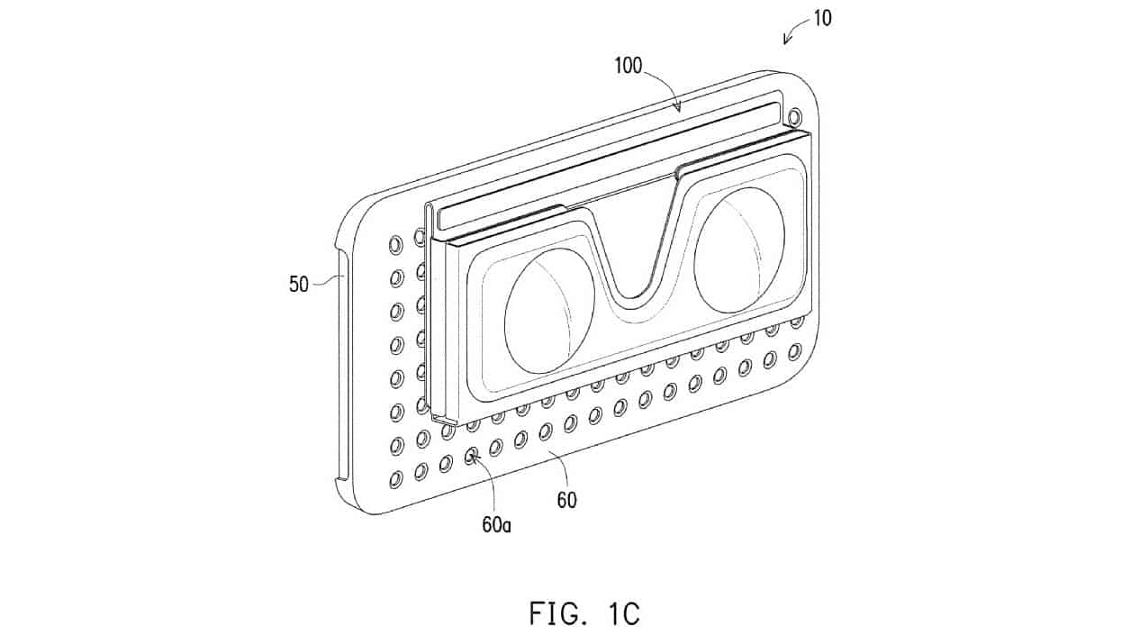 htc patents a mobile vr headset with a magnetic phone case