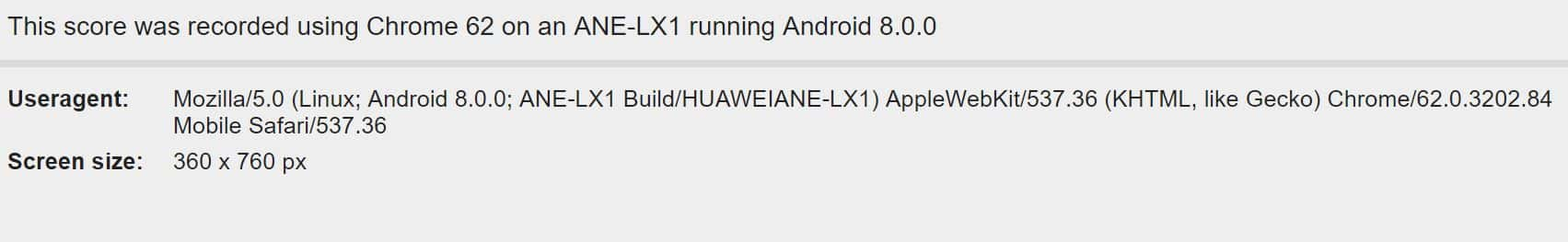 Huawei Phone Benchmarked With A 19:9 Display & Android 8.0