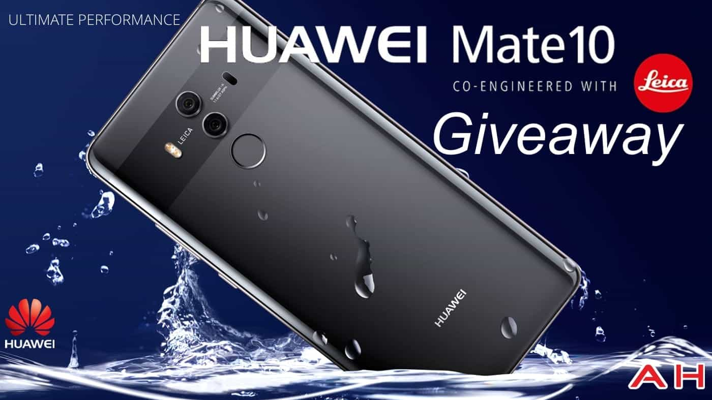 Win A Huawei Mate 10 Pro With Huawei & AndroidHeadlines