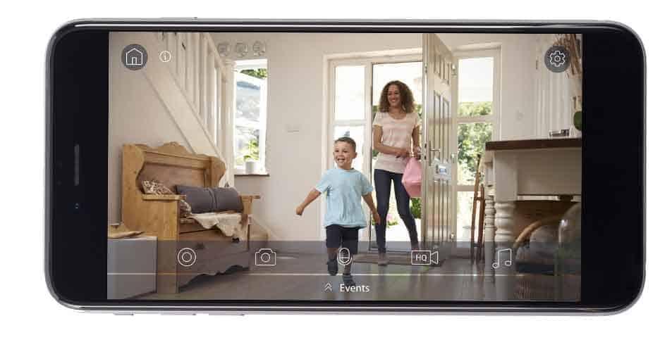 Hanwha N1 phone family horizontal ui