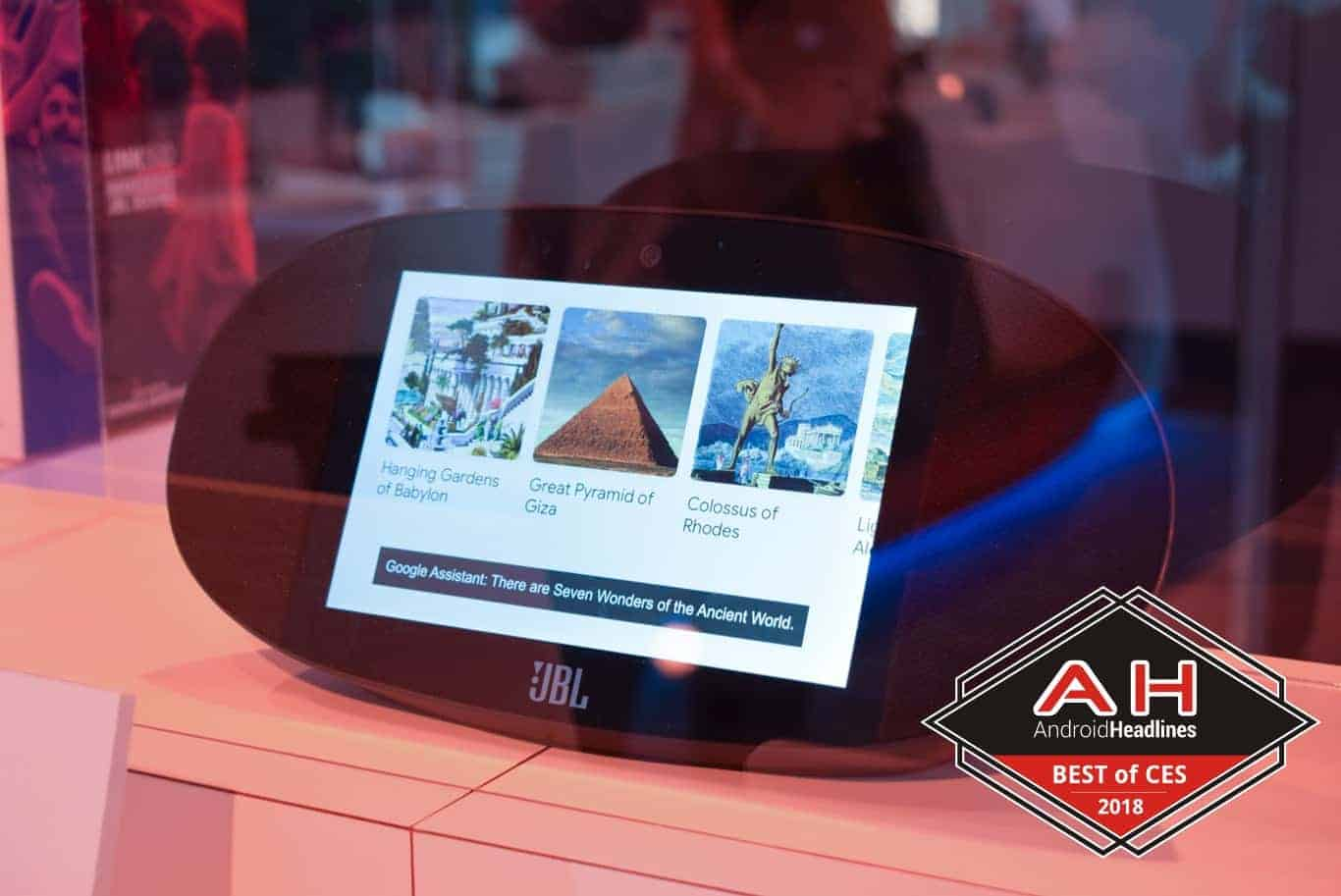 JBL Link View best of CES 2018 badge 1