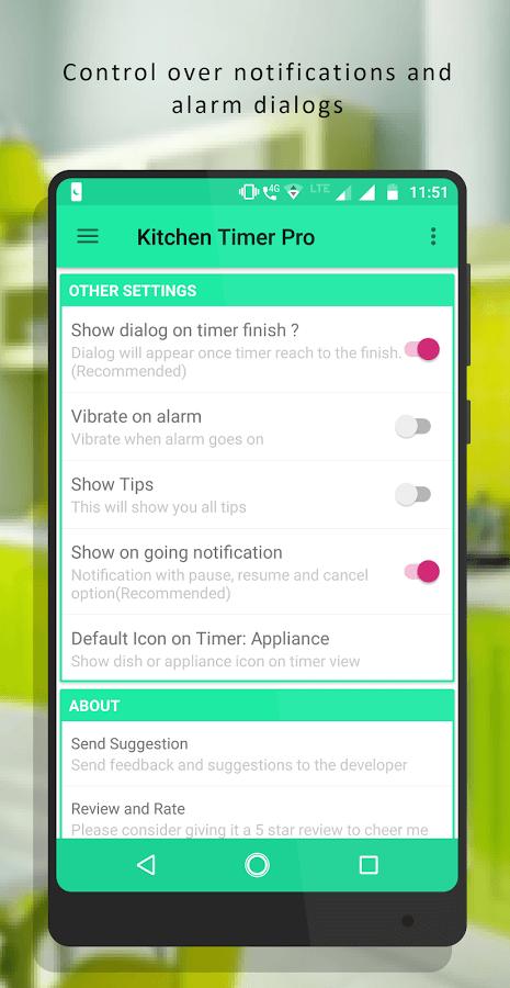 Kitchen Timer Pro app official image 1