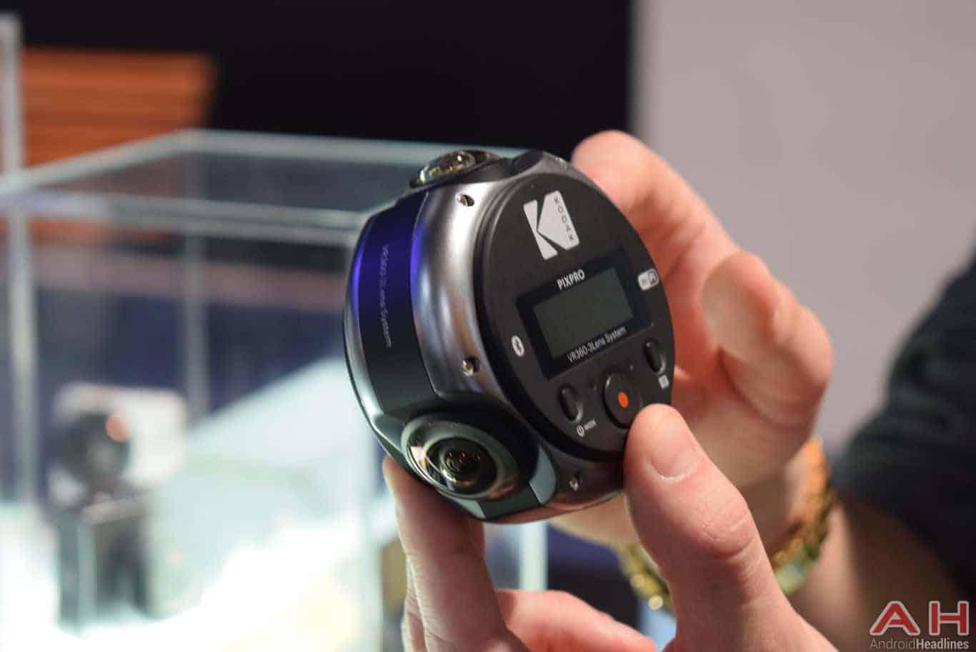 Kodak PIXPRO 360 Pro VR Camera CES 2018 AH 5