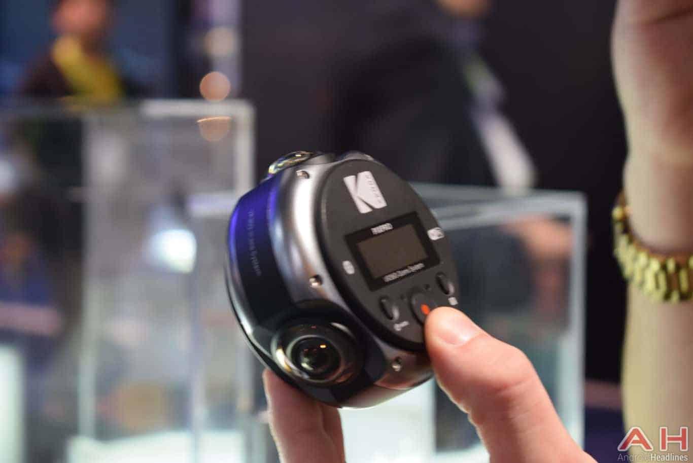Kodak PIXPRO 360 Pro VR Camera CES 2018 AH 6