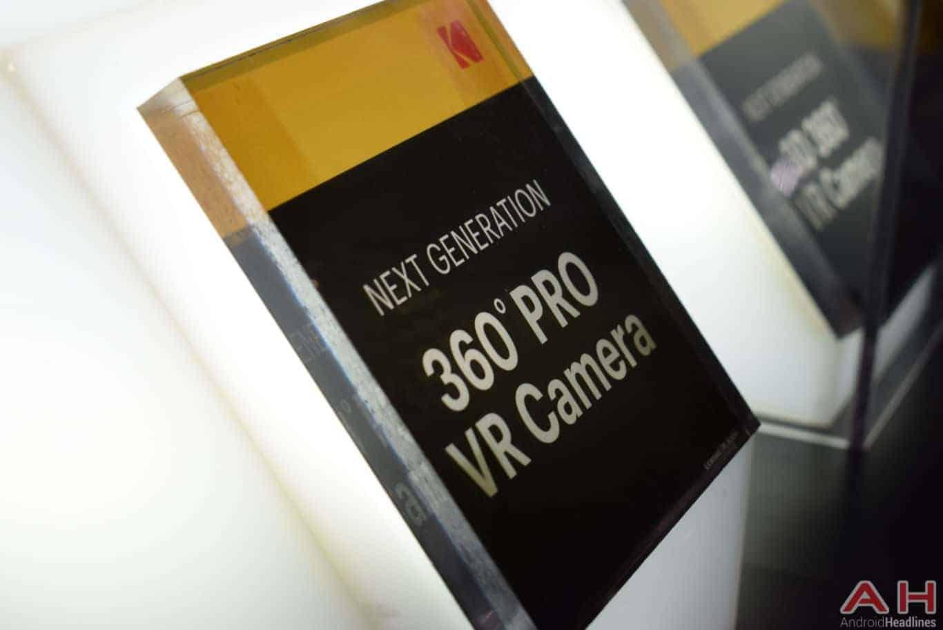 Kodak PIXPRO 360 Pro VR Camera CES 2018 AH 7