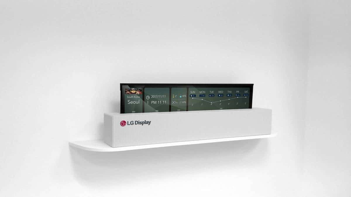 LG 4K Rollable OLED 2