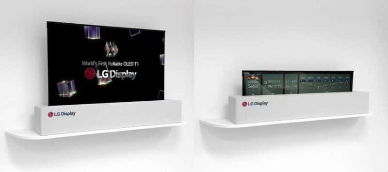 LG Display's Latest Creation Is A 4K 65-Inch Rollable OLED Panel