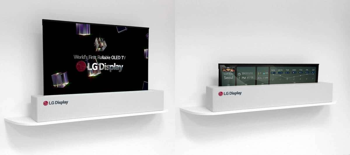 LG 4K Rollable OLED 3