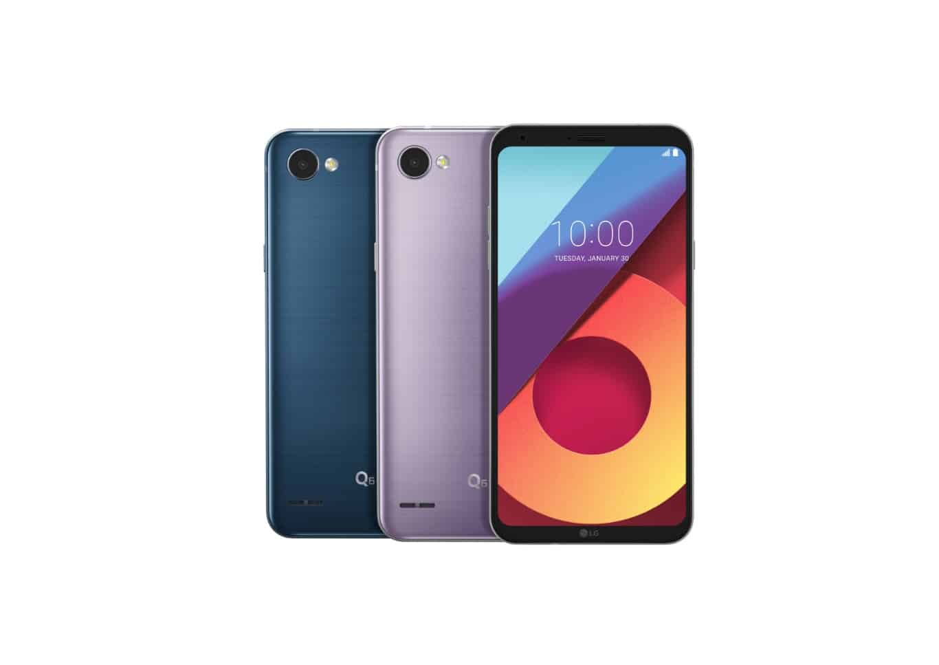 LG G6 and Q6 new colors January 2018 3