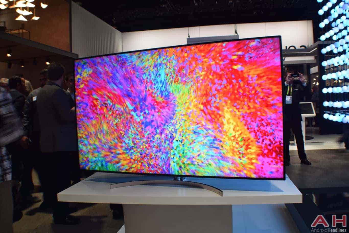 LG Nano Cell TV CES 2018 AH 1