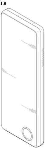 LG folding screen folded