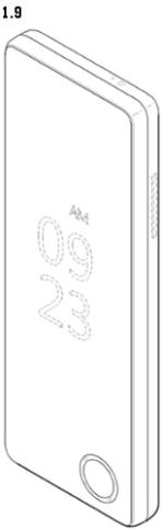 LG folding screen folded display