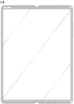 LG folding screen front