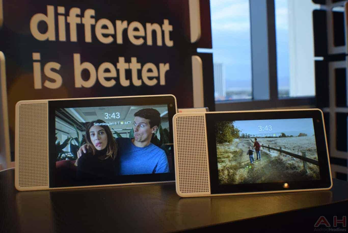 Lenovo Smart Display CES 2018 AM AH 0117