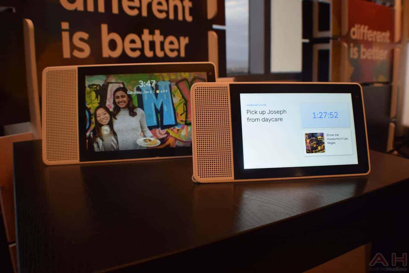 Lenovo Smart Display CES 2018 AM AH 0130