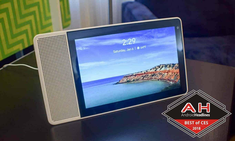 Lenovo Smart Display best of CES 2018 badge 1