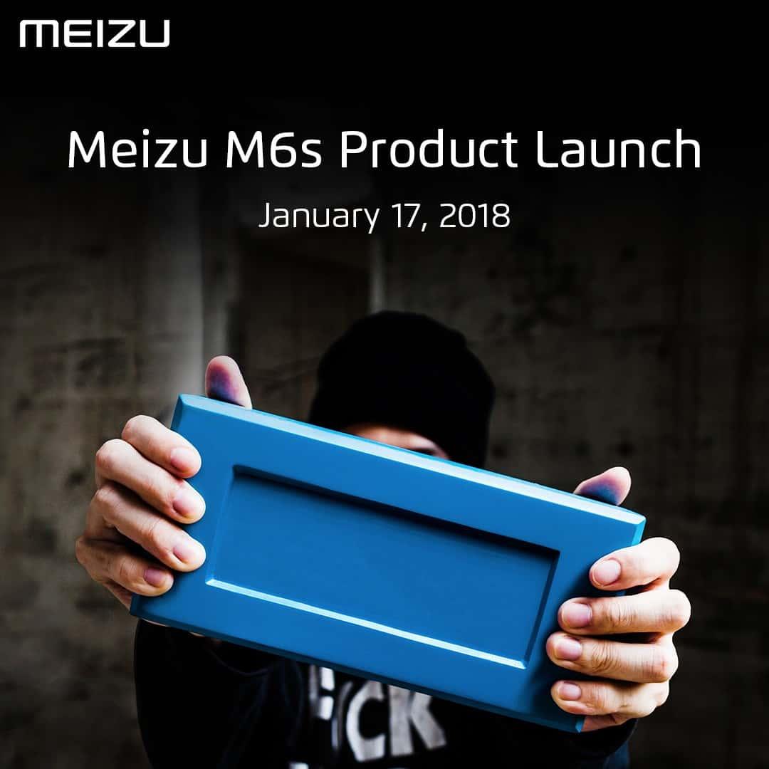 Meizu M6s announcement poster