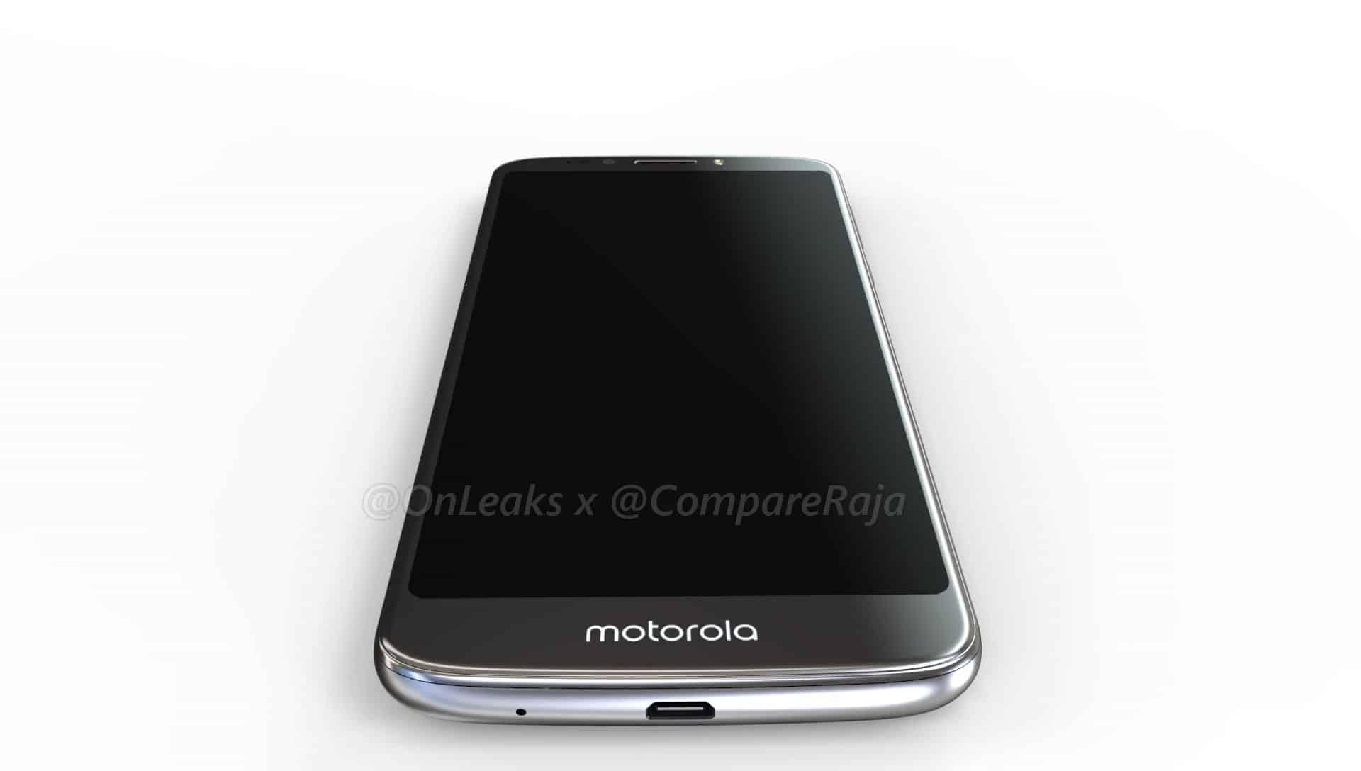 Moto G6 Play Leaked Renders 1