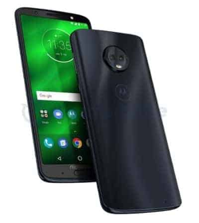 Additional Images Leak For The Moto G6 Series Phones