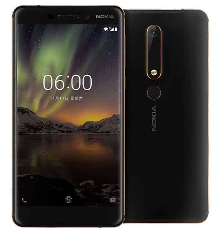 Nokia 6 2018 official image 1