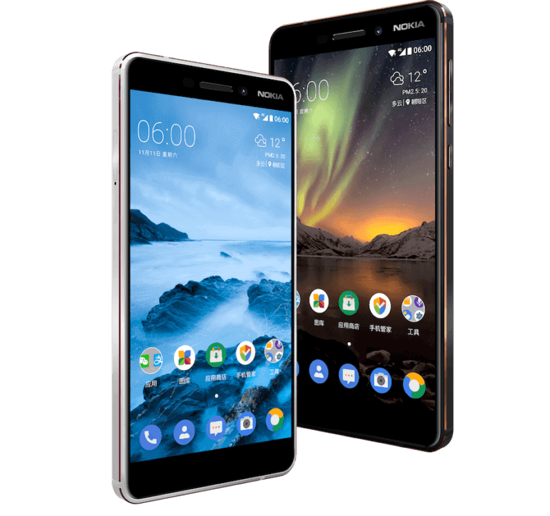 Nokia 6 (2018) Is Now Official With SD630, 4GB Of RAM