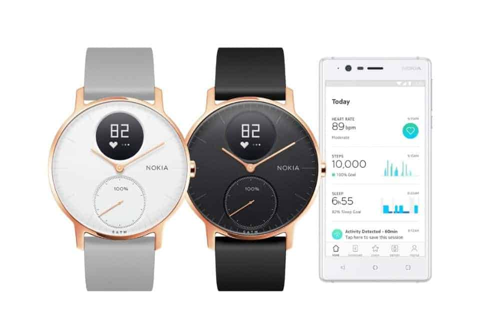 Nokia Steel HR Rose Gold Press Image CES 2018