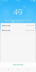 OPPO R11S AH NS Screenshots phone manager malware