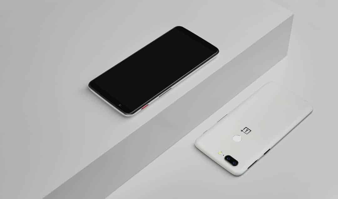 OnePlus 5T Sandstone White Official 2 of 23